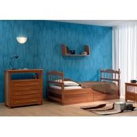 """Детская кровать """"Юниор-1"""" (ясень)"""