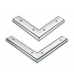 Ножки мебельные: b-165-4311 25х100 металл
