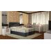 Спальный комплект SET T: Кроваткный бокс, матрас, подушки, интерьерное изголовье